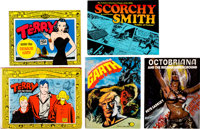 Comic-Related Hardback/Softcover Trade Paperbacks Group of 5 (Various Publishers, 1980s).... (Total: 5 Items)