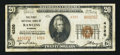 National Bank Notes:Wyoming, Rawlins, WY - $20 1929 Ty. 2 The First NB Ch. # 4320. ...