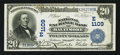 National Bank Notes:Maryland, Baltimore, MD - $20 1902 Date Back Fr. 642 The National ExchangeBank Ch. # (E)1109. ...