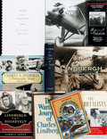 Books:Biography & Memoir, [Charles A. Lindbergh, subject]. Group of Nine Books. Variouspublishers and dates.... (Total: 9 Items)