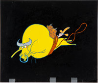 City Slickers II: The Legend of Curly's Gold Title Production Cel and Matching Drawing (Bob Kurtz and Friends,... (Total...