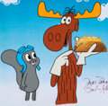 Animation Art:Production Cel, Bullwinkle Taco Bell Ad Production Cel (Jay Ward/Bob Kurtz andFriends, 1993)....