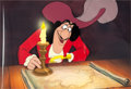 Animation Art:Production Cel, Peter Pan Captain Hook Production Cel (Walt Disney, 1953)....
