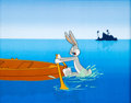 Animation Art:Production Cel, Buccaneer Bunny Bugs Bunny Production Cel (Warner Brothers,1948)....