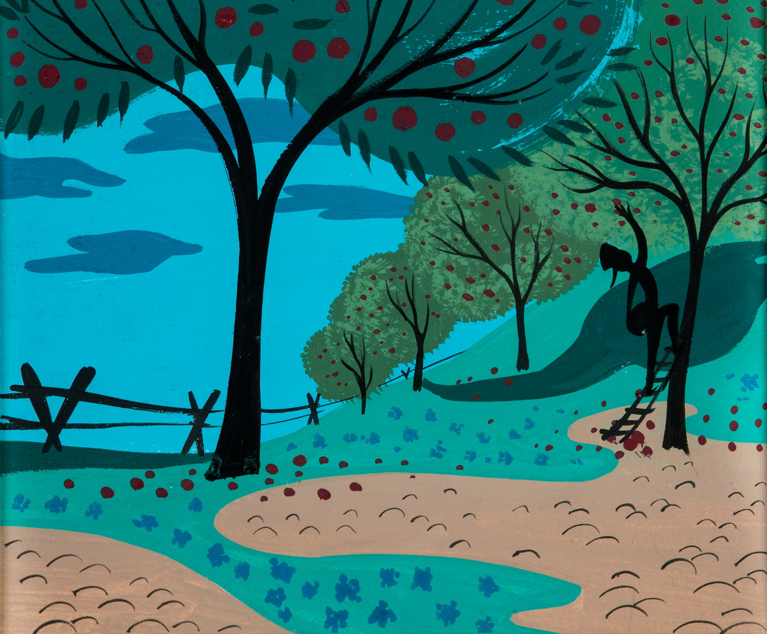 Mary Blair Melody Time Johnny Appleseed Concept Art Walt Disney Lot 95036 Heritage Auctions