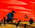 Animation Art:Concept Art, Mary Blair Song of the South Br'er Rabbit, Br'er Bear, and Br'er Fox Concept Art (Walt Disney, 1946)....