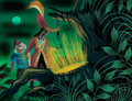 Animation Art:Concept Art, Mary Blair Peter Pan Captain Hook and Smee Concept Art (WaltDisney, 1953)....