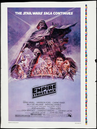 "The Empire Strikes Back (20th Century Fox, 1980). Printer's Proof Poster (32.25"" X 43.25"") Style B. Science Fi..."