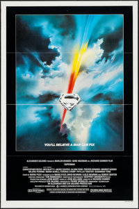 """Superman the Movie (Warner Brothers, 1978). One Sheet (27"""" X 41""""). Action"""