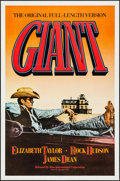 "Movie Posters:Drama, Giant (Kino International, R-1982). One Sheet (27"" X 41""). Drama....."