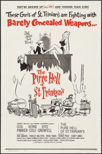 """The Pure Hell of St. Trinian's (Continental, 1961). One Sheet (27"""" X 41""""). Comedy"""