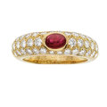 Estate Jewelry:Rings, Ruby, Diamond, Gold Ring, Cartier. ...