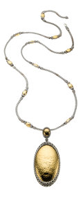 Estate Jewelry:Necklaces, Gold, Sterling Silver Necklace, John Hardy. ...