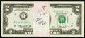 Small Size:Federal Reserve Notes, Fr. 1935-F* $2 1976 Federal Reserve Notes. Fifty Consecutive Examples. Choice Crisp Uncirculated.. ... (Total: 50 notes)