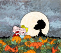 Animation Art:Production Cel, Peanuts It's the Great Pumpkin, Charlie Brown Read-Along Book & Record Illustration Production Cel and Painted Bac...