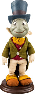 Animation Art:Puppet, Pinocchio Handmade Jiminy Cricket Doll by Ken Anderson(undated)....
