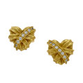 Estate Jewelry:Earrings, Diamond, Gold Earrings, Kieselstein-Cord. ...