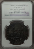 Mexico, Mexico: Philip V Pillar Dollar of 8 Reales 1743 Mo-MF XF Details(Saltwater Damage) NGC,...