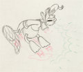 Animation Art:Production Drawing, The Lonesome Ghost Donald Duck Animation Drawing (WaltDisney, 1937)....