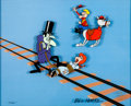 """Animation Art:Limited Edition Cel, """"Dudley to the Rescue"""" Dudley Do-Right Limited Edition Cel (Jay Ward, 1995)...."""