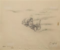 Animation Art:Production Drawing, Pinocchio Production Drawing Group of 4 (Disney, 1940)....