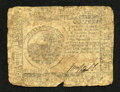 Colonial Notes:Continental Congress Issues, Continental Currency November 29, 1775 $6 Very Good. A tear isfound at both ends of the vertical center fold....