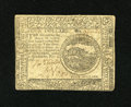 Colonial Notes:Continental Congress Issues, Continental Currency November 2, 1776 $4 About Extremely Fine. Asingle center fold and other signs of handling are found on...