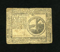 Colonial Notes:Continental Congress Issues, Continental Currency February 26, 1777 $2 Very Fine-Extremely Fine.A couple of center fold splits are found on this example...