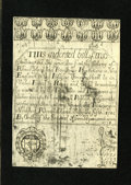 Colonial Notes:Rhode Island, Rhode Island July 5, 1715 Redated 1737 2s/6d Cohen Reprint ChoiceAbout New+++. A splendid example of this somewhat scarcer ...