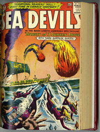 Sea Devils #1-20 Partial Issues Bound Volume (DC, 1961-64)