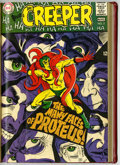 Silver Age (1956-1969):Superhero, Beware the Creeper #1-6 Partial Issues Bound Volume (DC, 1968-69)....