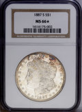 Morgan Dollars: , 1887-S $1 MS66 S NGC. The largest percentage of high grade 1887-S dollars comes from the Redfield Hoard. However, this is...