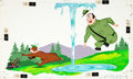 Animation Art:Production Drawing, Yogi Bear Children's Book Illustration (Hanna-Barbera, 1960s)....
