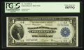 Fr. 714 $1 1918 Federal Reserve Bank Note PCGS Choice About New 58PPQ