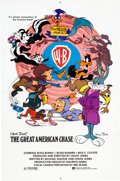 Animation Art:Poster, The Great American Chase Movie Poster (Warner Brothers,1979)....