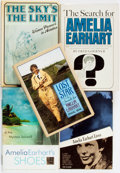 Books:Biography & Memoir, [Amelia Earhart]. Group of Five Books on Earhart and Other Female Aviators, Includes One SIGNED. Various publishers, 1966 - ... (Total: 5 Items)