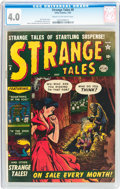Golden Age (1938-1955):Horror, Strange Tales #8 (Atlas, 1952) CGC VG 4.0 Cream to off-whitepages....