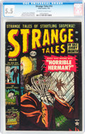 Golden Age (1938-1955):Horror, Strange Tales #14 (Atlas, 1953) CGC FN- 5.5 Off-white to whitepages....