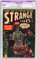 Golden Age (1938-1955):Horror, Strange Tales #17 (Atlas, 1953) CGC Apparent VG 4.0 Slight (A)Cream to off-white pages....