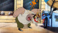 Animation Art:Production Cel, Oliver and Company Oliver and Dodger Pan Production CelSetup (Walt Disney, 1988)....