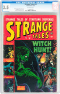 Golden Age (1938-1955):Horror, Strange Tales #18 (Atlas, 1953) CGC VG- 3.5 Off-white pages....