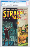 Golden Age (1938-1955):Horror, Strange Tales #36 (Atlas, 1955) CGC FN 6.0 Off-white pages....