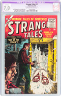 Golden Age (1938-1955):Horror, Strange Tales #37 (Atlas, 1955) CGC Apparent FN/VF 7.0 Slight (C-1)Off-white to white pages....