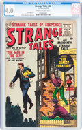 Golden Age (1938-1955):Horror, Strange Tales #38 (Atlas, 1955) CGC VG 4.0 Off-white to whitepages....