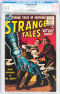 Silver Age (1956-1969):Horror, Strange Tales #49 (Atlas, 1956) CGC VG+ 4.5 Off-white to whitepages....