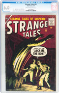Silver Age (1956-1969):Horror, Strange Tales #55 (Atlas, 1957) CGC FN 6.0 Off-white to whitepages....