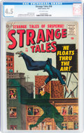 Silver Age (1956-1969):Horror, Strange Tales #58 (Atlas, 1957) CGC VG+ 4.5 Off-white pages....