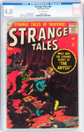 Silver Age (1956-1969):Horror, Strange Tales #60 (Atlas, 1957) CGC VG 4.0 Off-white pages....