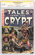 Golden Age (1938-1955):Horror, Tales From the Crypt #31 Signature Series (EC, 1952) CGC FN 6.0Cream to off-white pages....