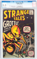 Silver Age (1956-1969):Horror, Strange Tales #73 (Marvel, 1960) CGC FN- 5.5 Off-white to whitepages....